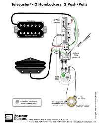 tele wiring diagram 2 humbuckers 2 push pulls telecaster build
