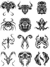 incredible illustrations of zodiac signs by andreas preis