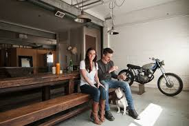 Garage Style Homes Dream Motorcycle Garages Park Your Ride In Style At Night