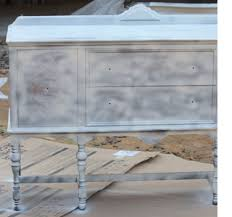 home dzine distressed furniture with spray paint