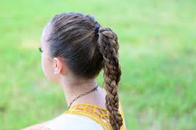 hair styles for a run the run braid combo and more hairstyles from cutegirlshairstyles