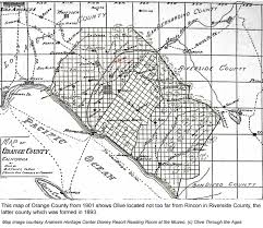 Map Of Riverside County Olive Through The Ages Historical Overview Of Olive Maps And Photos