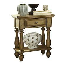 shop liberty furniture high country distressed honey spice pine