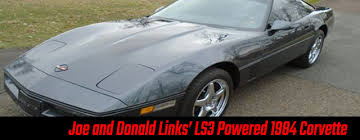 ls3 corvette two tale corvette 1984 corvette ls3 by the shop