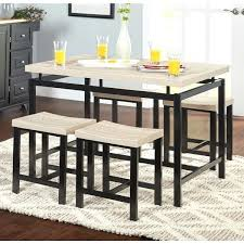 Inexpensive Dining Room Sets Cheap Dining Room Sets Simple Living Two Tone 5 Dining Set