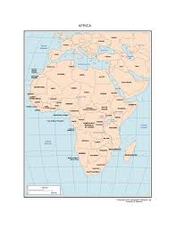 Blank Map Of Africa Quiz by Maps Of Africa