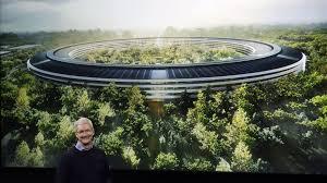 spaceship campus apple apple u0027s new 5 billion apple park campus has a 100 000 square foot