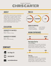 resume header infographic resume template venngage