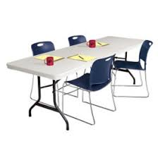 Light Weight Folding Table Folding Card Table Shop Durable Portable U0026 Lightweight Tables
