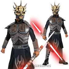 samurai halloween costume ck404 star wars deluxe savage opress child boys fancy dress up