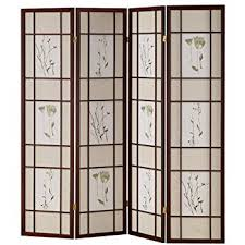 Panel Shoji Screen Room Divider - amazon com ore international r5443 4 four panel shoji screen