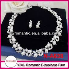 simple diamond sets hot sale simple diamond necklace set view simple diamond necklace