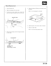 removing sunroof help acuralegend org the acura legend forum