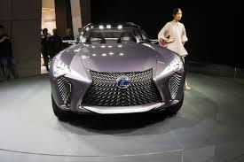 lexus ux concept interior lexus ux concept to spawn production model autoguide com news