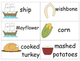thanksgiving word wall cards by the teaching zoo tpt