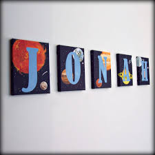 Kids Room Letters by Solar System Letters Child U0027s Room Decor Letters For Boys