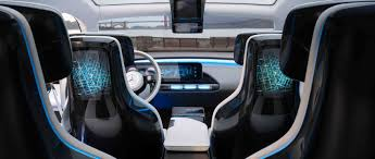 luxury minivan interior mercedes benz concept eq electro look with suv genes