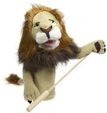 lion puppet rory the lion plush puppet doug 2568 ebay