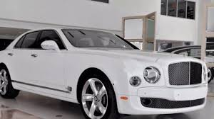 bentley mulsanne speed white new 2016 bentley mulsanne speed youtube