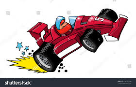 cartoon race car stock illustration 150150266 shutterstock