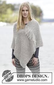 drops design poncho lorelei drops 166 30 free knitting patterns by drops design