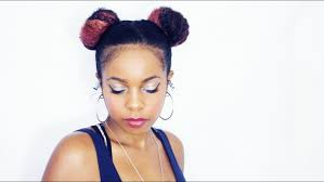 daseana lifestyle art beauty my two buns hairstyle on natural