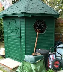 hexagonal garden shed 9 steps with pictures