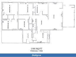 Single Family Floor Plans Nsf Dahlgren U2013 The Bungalow Community 4 Bedroom Single Family