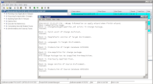 viewing change assistant log files