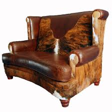 Leather Loveseats Luckenbach Curved Front Loveseat