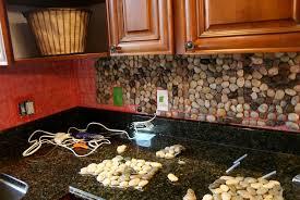 rock kitchen backsplash rock tile backsplash zyouhoukan net
