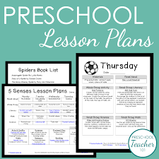 weekly lesson planner template preschool lesson plan template for weekly planning preschool preschool lesson plans sample
