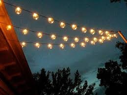 outdoor bulb string lights clear globe string lights set of 25 g40 bulbs indoor outdoor