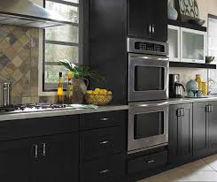 black kitchen cabinets images contemporary black kitchen cabinets masterbrand