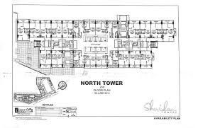 north tower floor plans page 001 sheridan towers