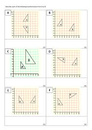 describing transformations by doddmaths teaching resources tes