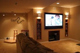 home theater wall stand basement ideas minecraft
