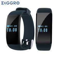 bracelet with heart monitor images Diggro dfit d21 smart bracelet heart rate monitor wristband ip68 jpg
