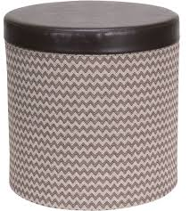 round circle ottoman with storage sogocountry design circle image of height circle ottoman with storage