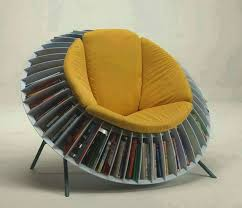 decorating ideas awesome circular bookshelf with round chair