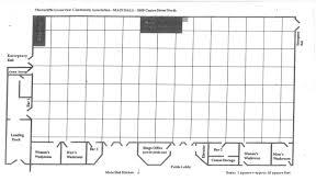 Juice Bar Floor Plan Halls U0026 Rates
