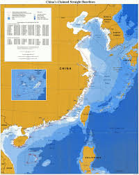 China On A Map by Marine Regions