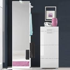 design garderobenmã bel wohnzimmerz schuhschrank garderobe with garderobe jesko cm weiss