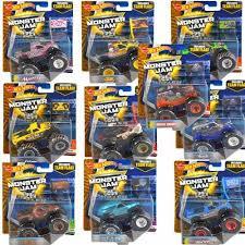 wholesale mattel wheels monster jam monster trucks asstd