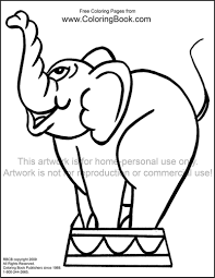 coloring pages free coloring pages elephant