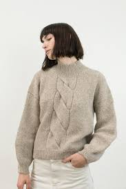cable sweater oatmeal twist cable sweater micaela greg