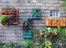 diy ideas make a beautiful wall garden from old pallets huffpost