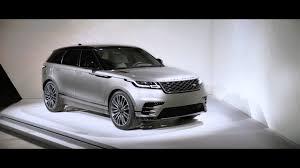 the new range rover velar youtube