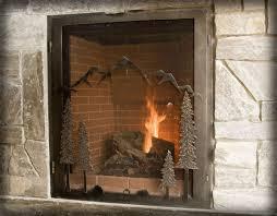airtight fireplace glass doors home design inspirations