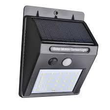 Security Sensor Lights Outdoor 25 Led Solar Powered Pir Motion Sensor Light Outdoor Garden
